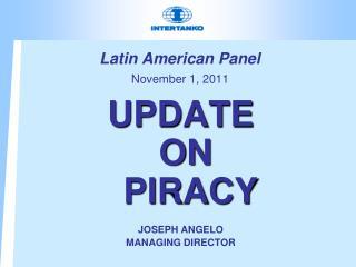 Latin American Panel November 1, 2011
