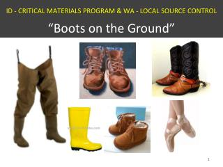 ID - Critical  Materials  Program & WA - LOCAL  SOURCE  CONTROL