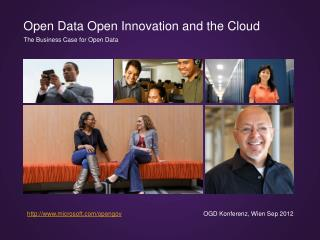 Open Data Open Innovation and the Cloud