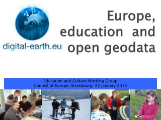 Europe, education  and open  geodata