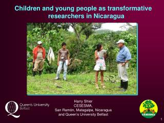 Children and young people as transformative researchers in Nicaragua