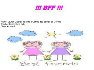 Camila e Lauren
