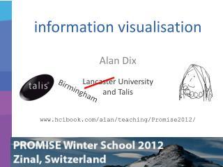 information visualisation