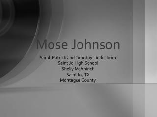 Mose Johnson