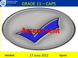 GRADE 11 – CAPS