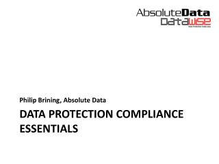 Data Protection Compliance  Essentials