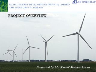 SACHAL ENERGY DEVELOPMENT (PRIVATE) LIMITED  ARIF HABIB GROUP COMPANY