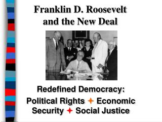 Franklin D. Roosevelt and the New Deal