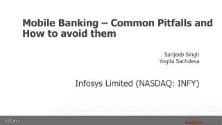 Mobile Banking – Common Pitfalls and How to avoid them