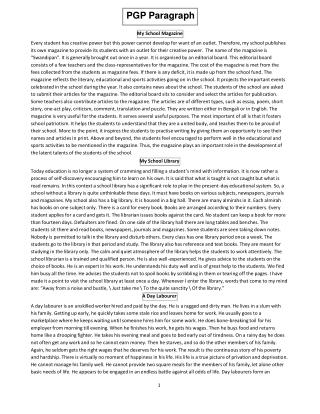 PGP Paragraph