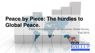 Peace by Piece: The hurdles to Global  Peace.