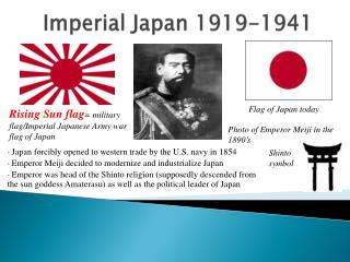 Imperial Japan 1919-1941