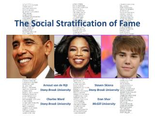 The Social Stratification of Fame