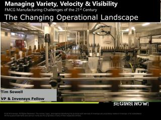 The Changing Operational Landscape