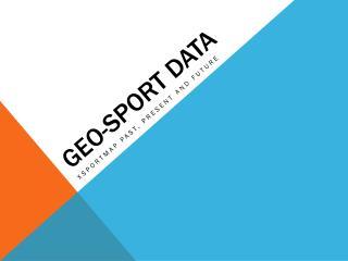 Geo-Sport Data