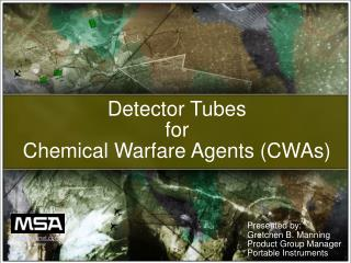 Detector Tubes for Chemical Warfare Agents CWAs