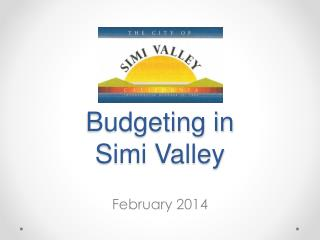 Budgeting in Simi Valley