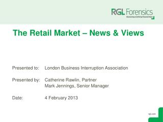 The Retail Market – News & Views