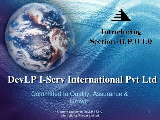 DevLP I-Serv International  Pvt  Ltd
