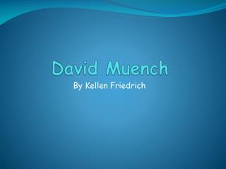 David  Muench