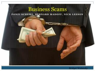 Business Scams