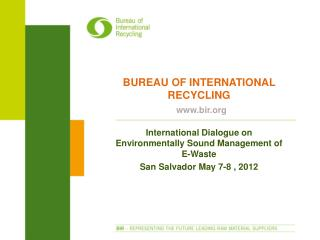 bureau of international recycling