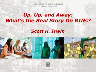 Up, Up, and Away: What's the Real Story On RINs?