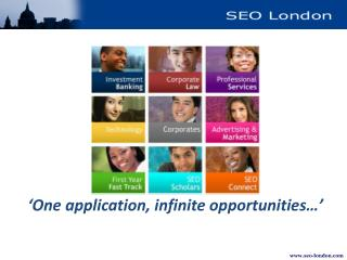 ' One application, infinite opportunities…'