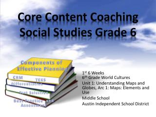 Core Content Coaching Social Studies Grade 6