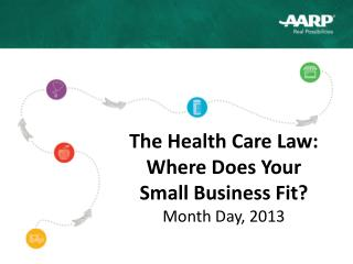 The Health Care Law:  Where Does Your  Small Business Fit ? Month Day, 2013