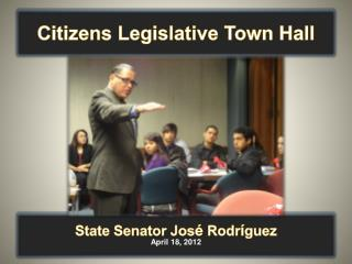 Citizens Legislative Town Hall