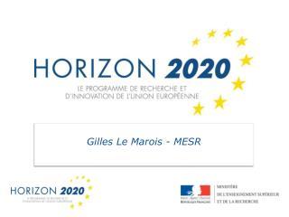 Gilles Le Marois - MESR