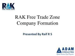 RAK Free Trade Zone Company Formation