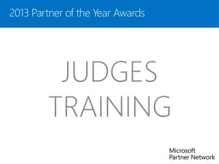 2013 Partner of the Year  Awards