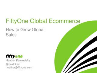 FiftyOne Global Ecommerce