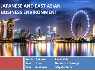 Japanese and east  asian business environment