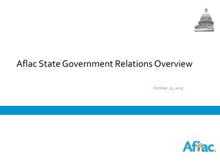 Aflac State Government Relations Overview