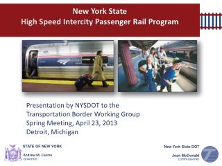 New York State  High Speed Intercity Passenger Rail Program