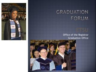 Graduation Forum