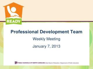 Professional Development Team