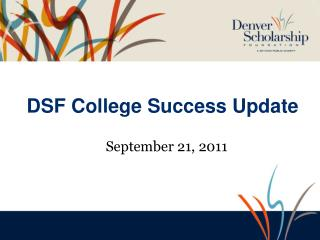 DSF College Success Update