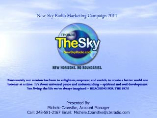 New Sky Radio Marketing Campaign  2011