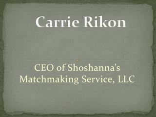 Carrie Rikon