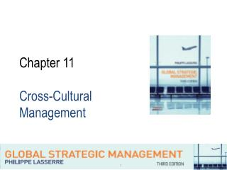 Chapter 11 Cross-Cultural Management