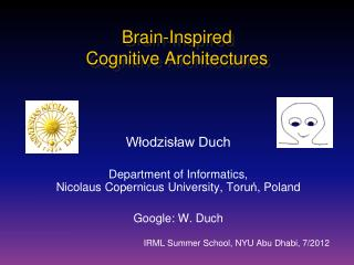 Brain-Inspired  Cognitive  Architectures