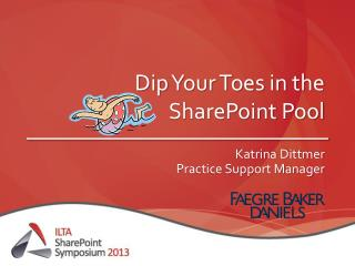 Dip Your Toes in the SharePoint Pool