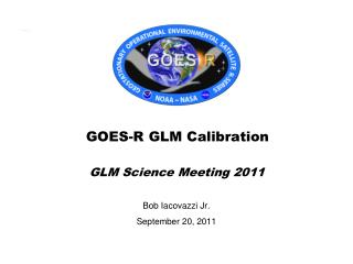GOES-R GLM Calibration