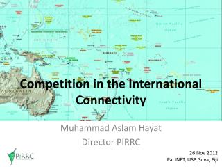 Competition in the International Connectivity