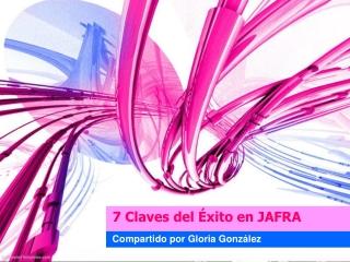 7 claves del exito Jafra