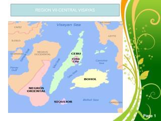 REGION VII-CENTRAL VISAYAS